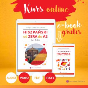 Hiszpański od ZERA do A2 kurs online