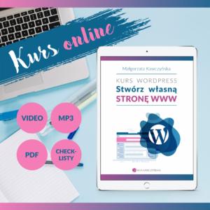 Strona www na WordPressie