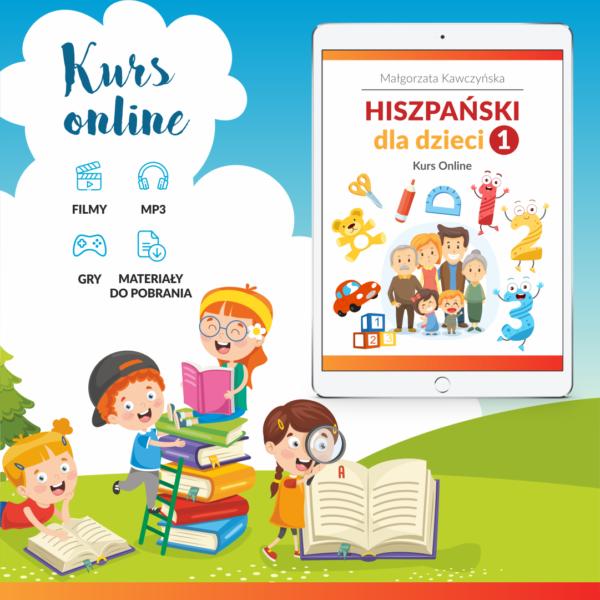 Kurs online Hiszpański dla dzieci